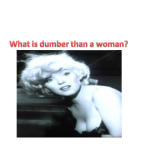 dumber than woman powerpoint