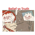 belief vs truth png